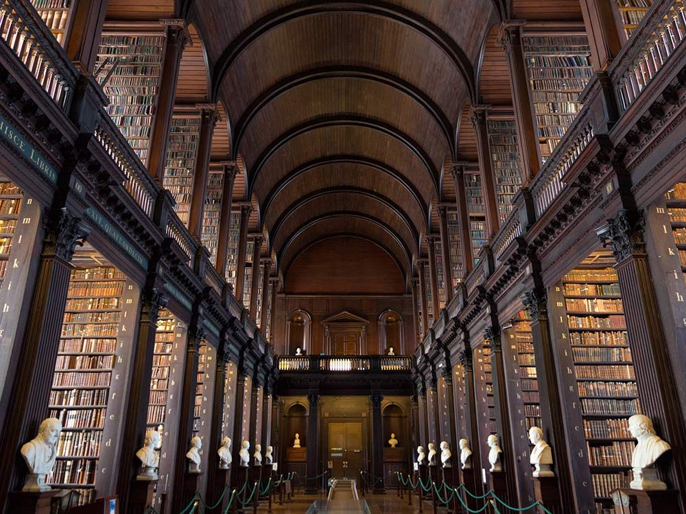 Dublin library for book lovers