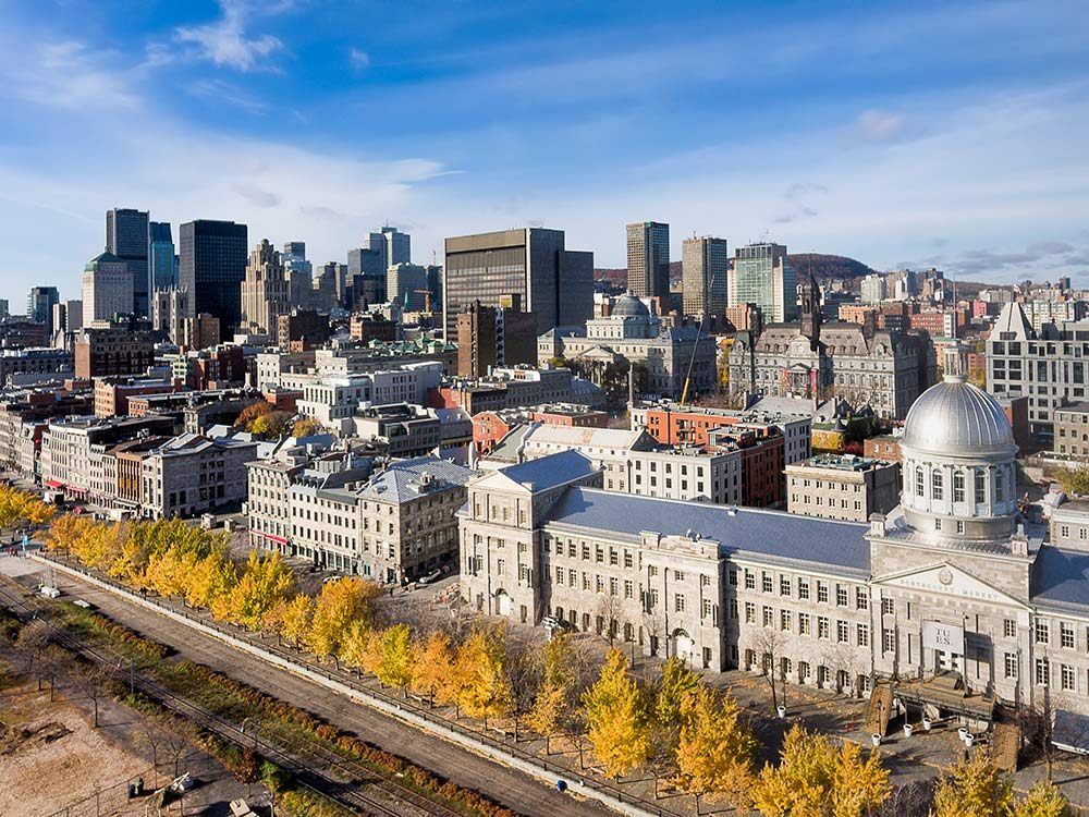Downtown in Montreal