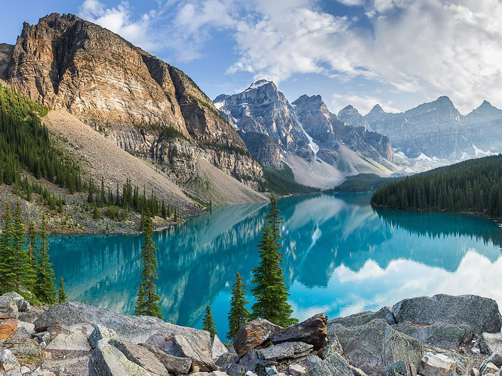 The Rocky Mountains are one of Canada's natural wonders