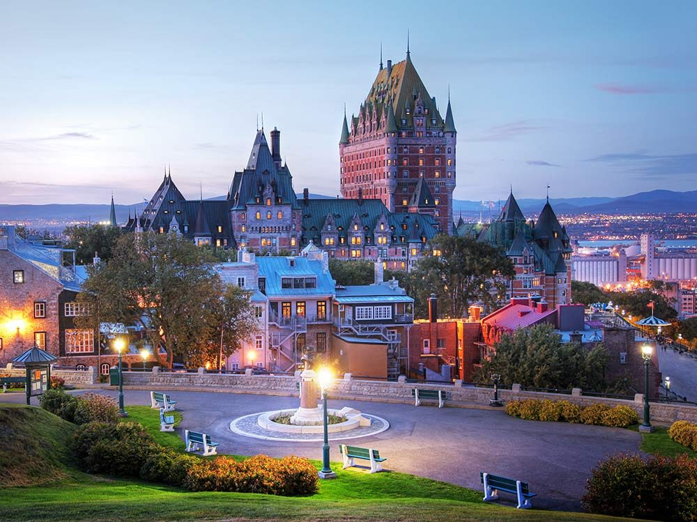 Montreal Getaways: Quebec City, Quebec