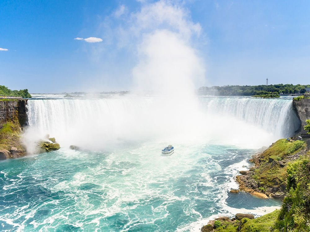 Niagara Falls is one of Canada's natural wonders