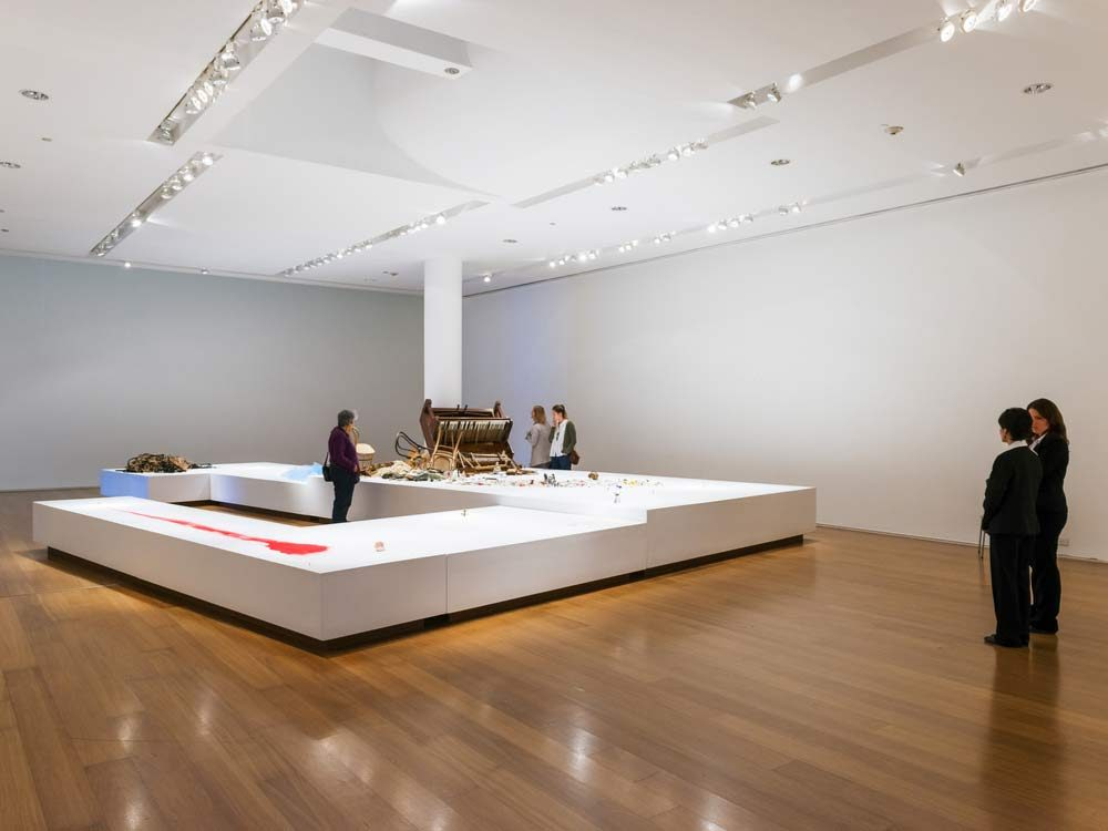 Exhibit at the MALBA in Buenos Aires
