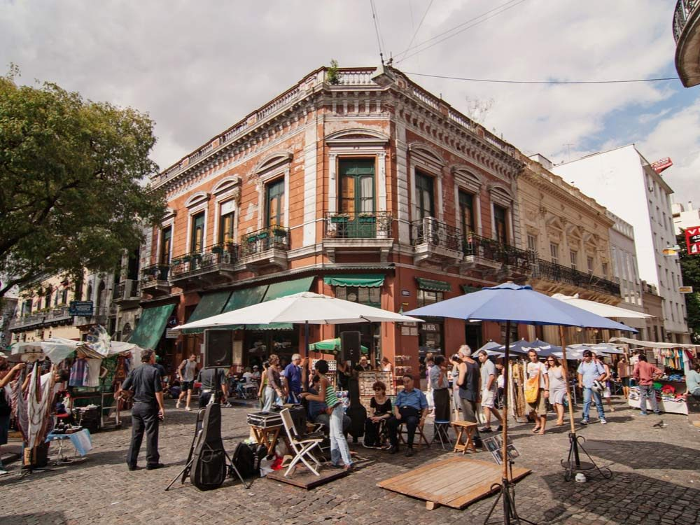 San Telmo in Buenos Aires