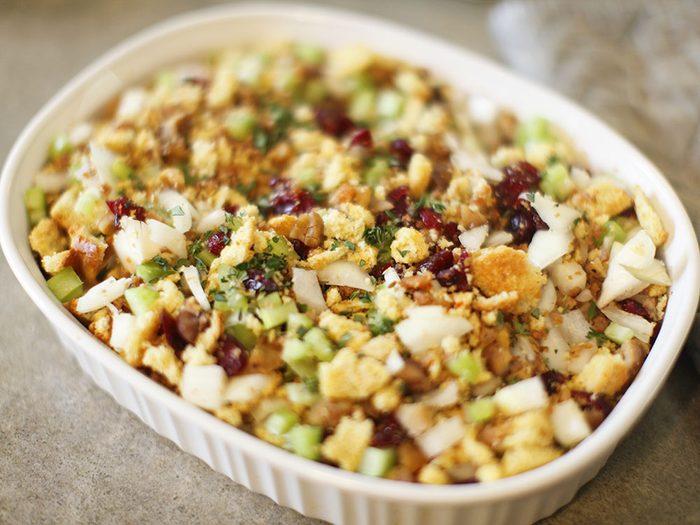 Gluten-free cranberry stuffing