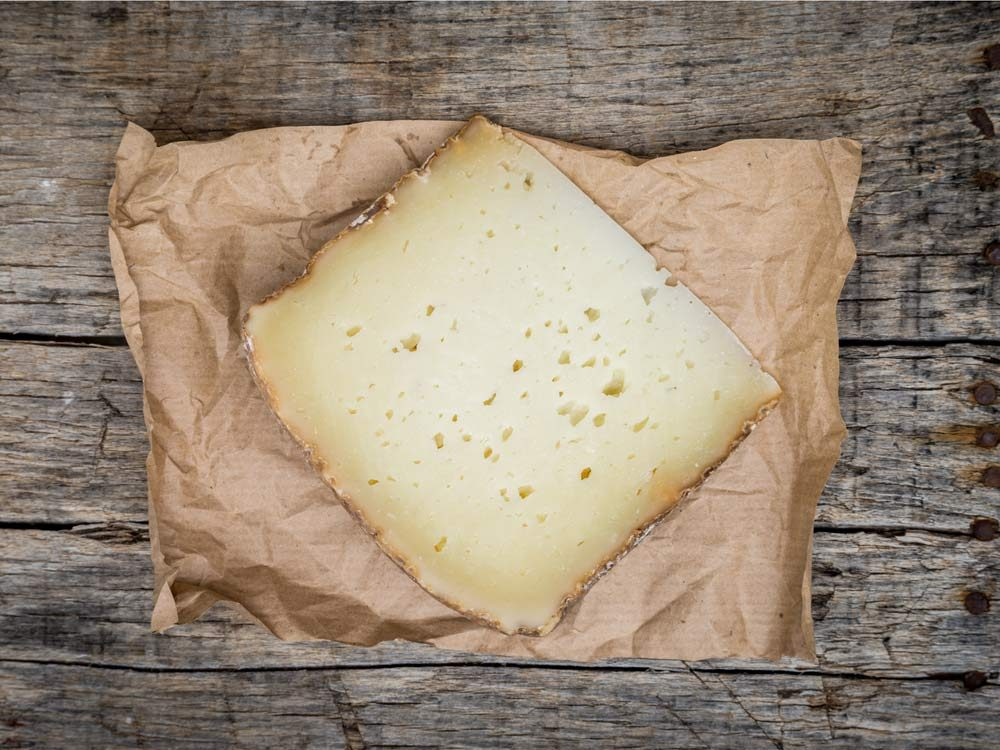 Pecorino cheese from Italy