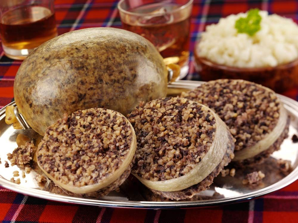 Haggis from Scotland