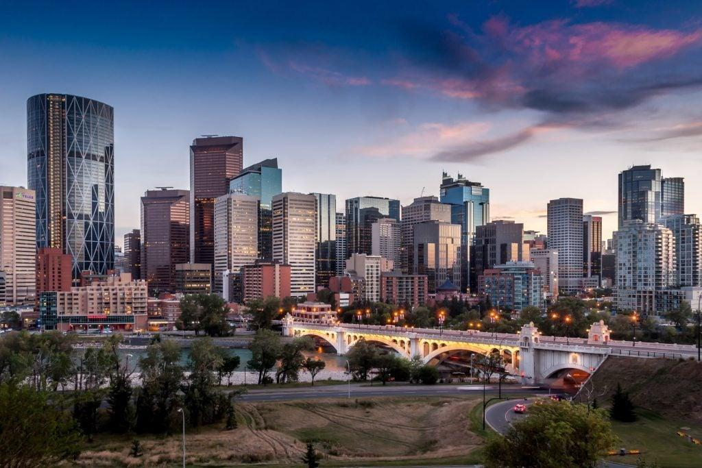 View of Calgary, Alberta