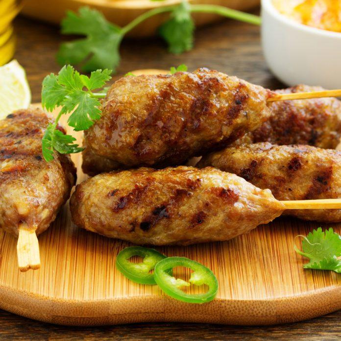 Greek Lamb Koftas
