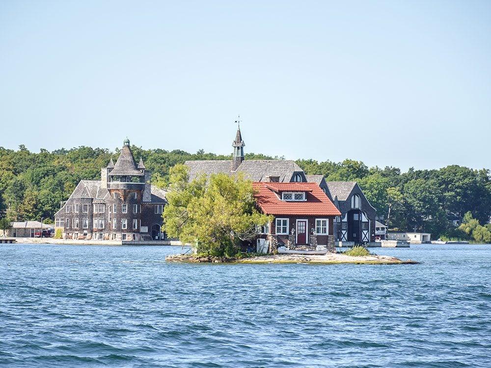 1000 Islands in Ontario
