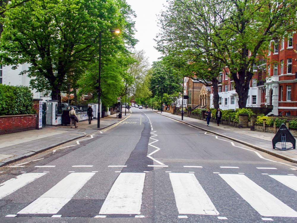 Abbey Road in London