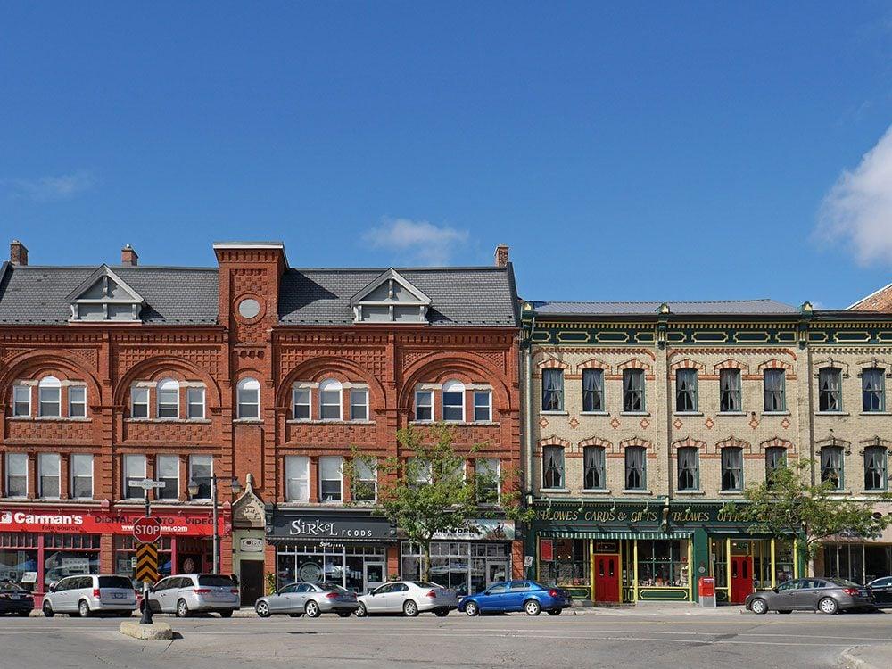 Street in Stratford, Ontario
