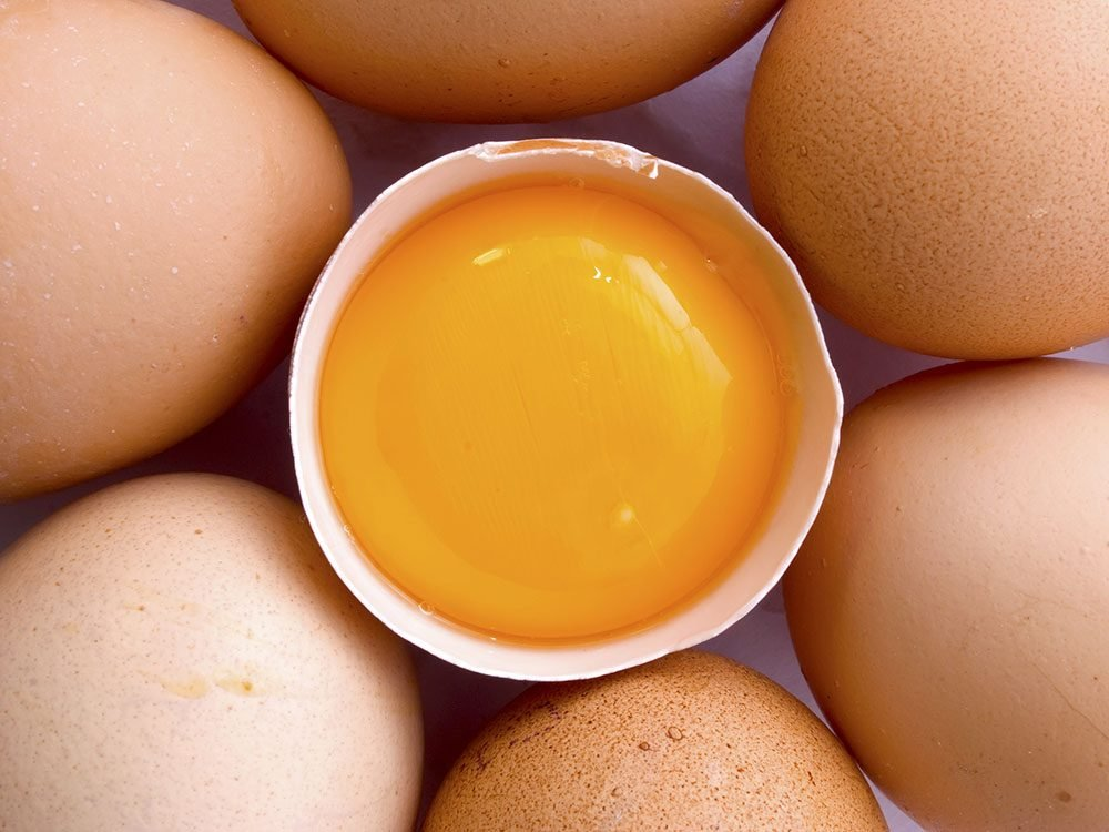 Essential vitamins your body needs: Biotin (Egg yolk)