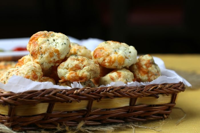 Garlic and cheddar biscuits
