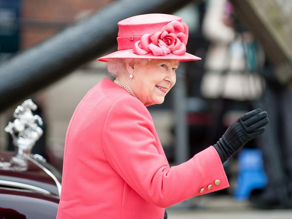 Queen Elizabeth II in Liverpool