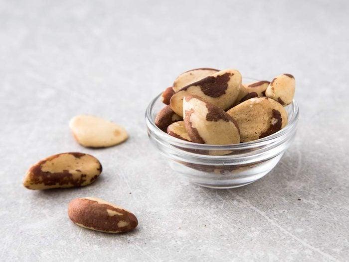 Brazil nuts stimulate healthy sperm production