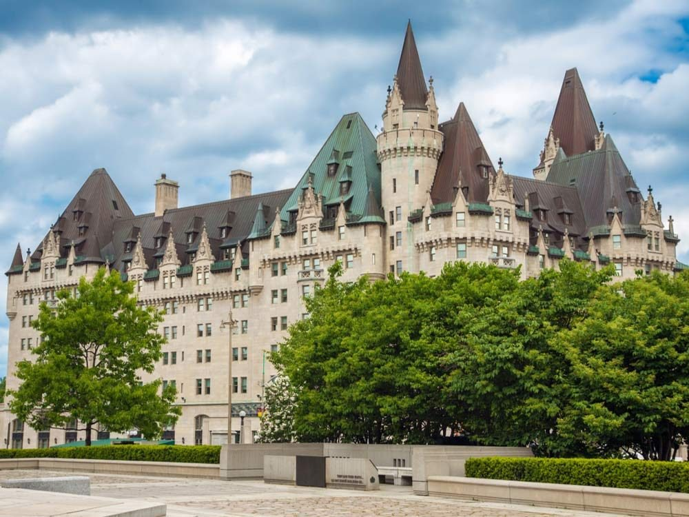 Fairmont Chateau Laurier in Ottawa