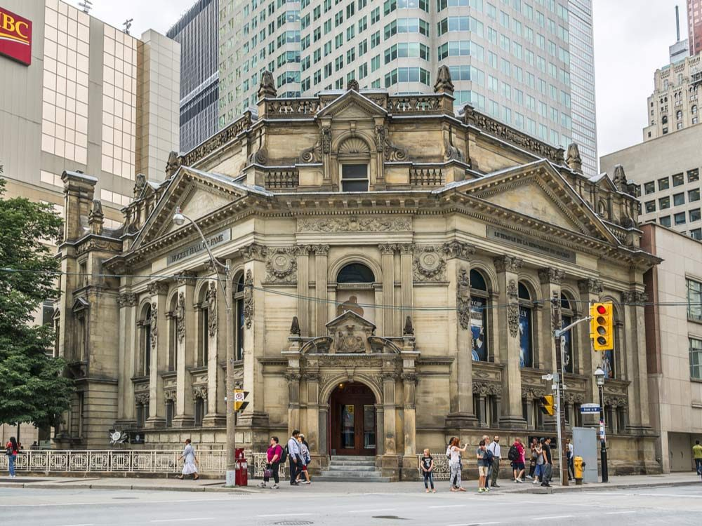 Hockey Hall of Fame in Toronto