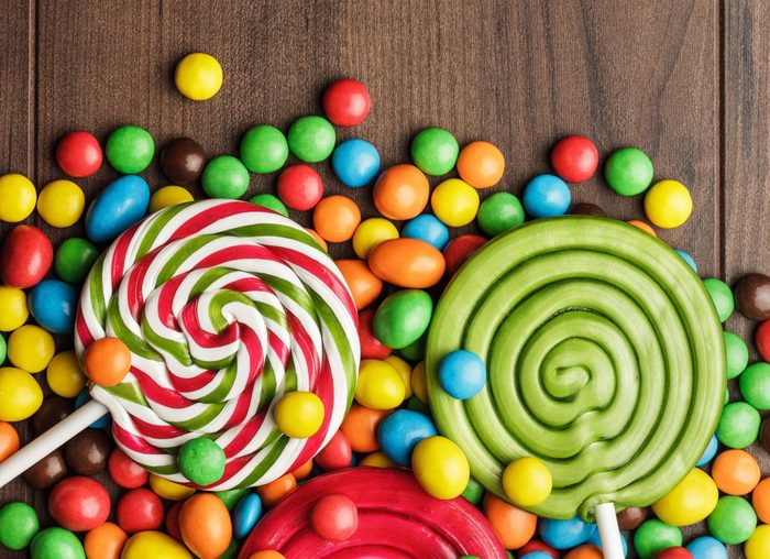 Lollipops and other candy