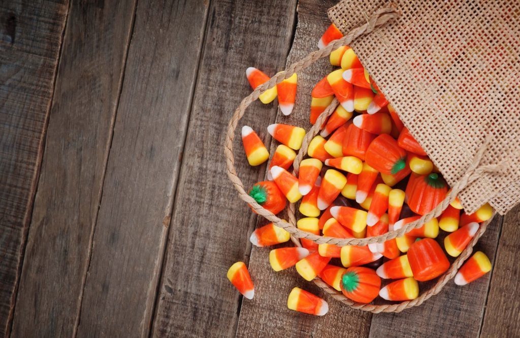 Candy corns for Halloween