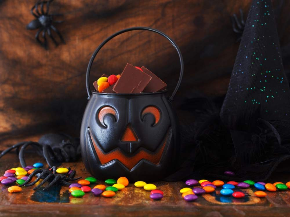 Halloween chocolate candy