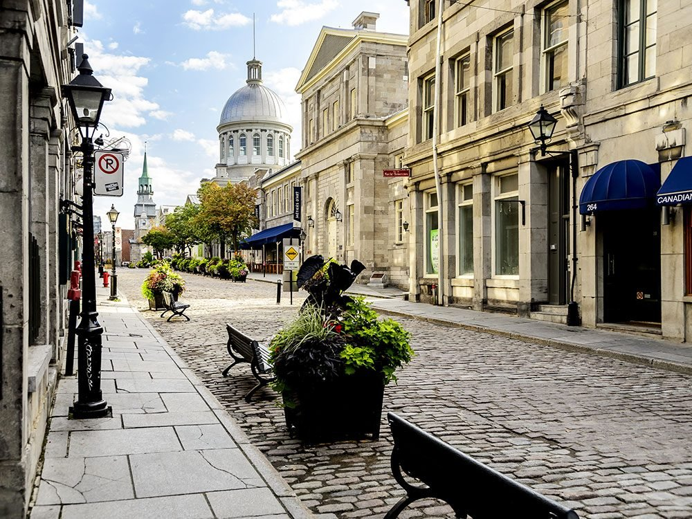 Haunted locations in Old Montreal, Quebec, Canada