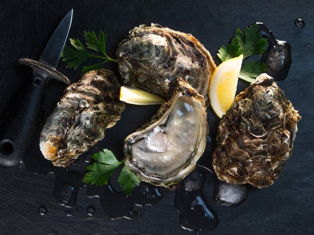 Oysters boost libido
