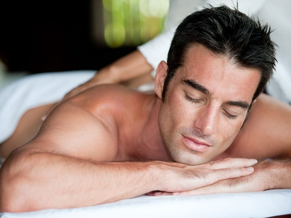 Get a relaxing massage to relieve stress