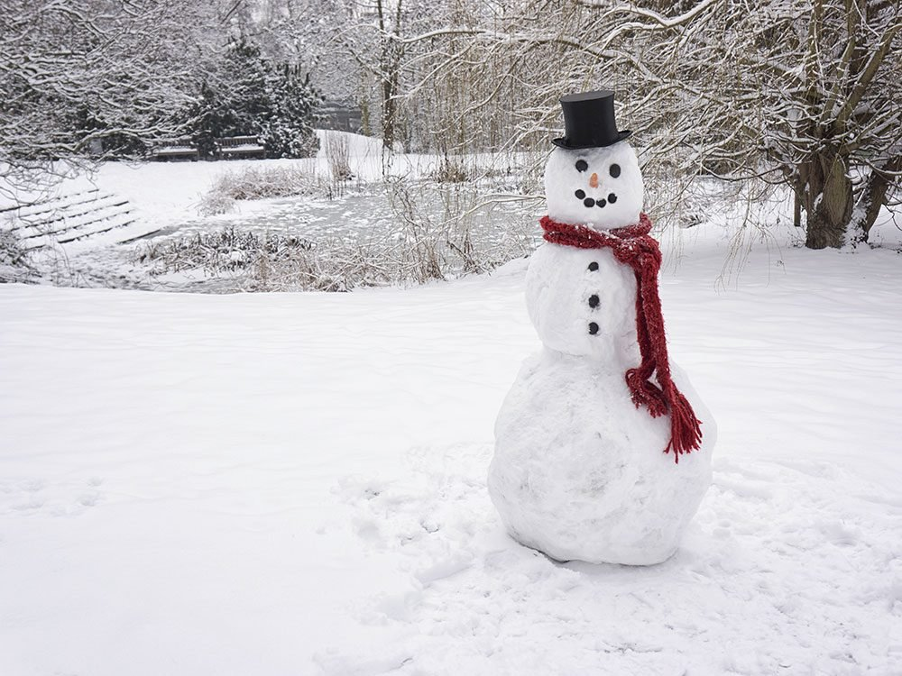 Strange Canadian laws about snowmen