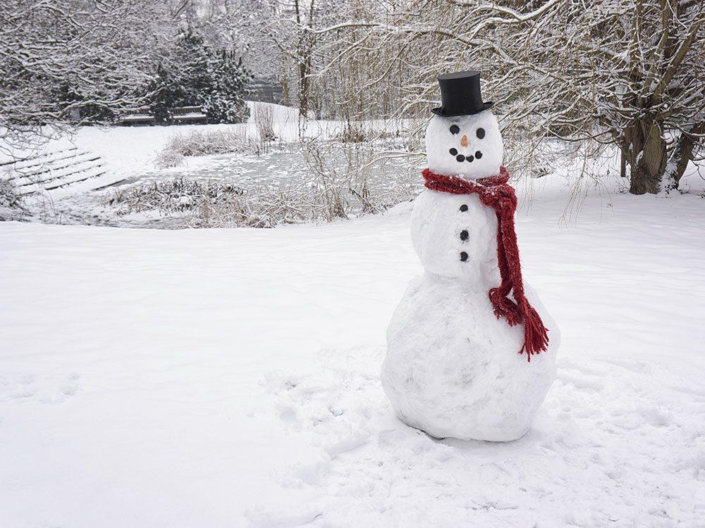 Strange Canadian laws about snowmen