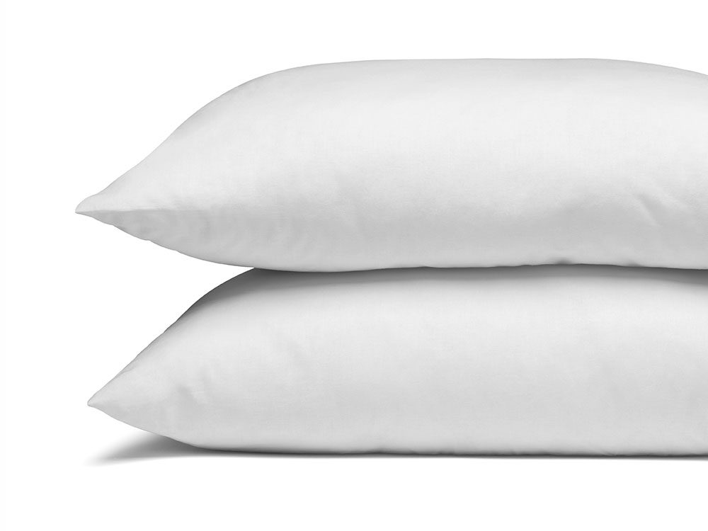 Switch to feather pillows for a deper sleep