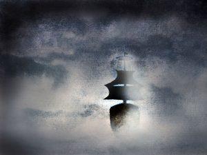 The burning ship of Northumberland Strait