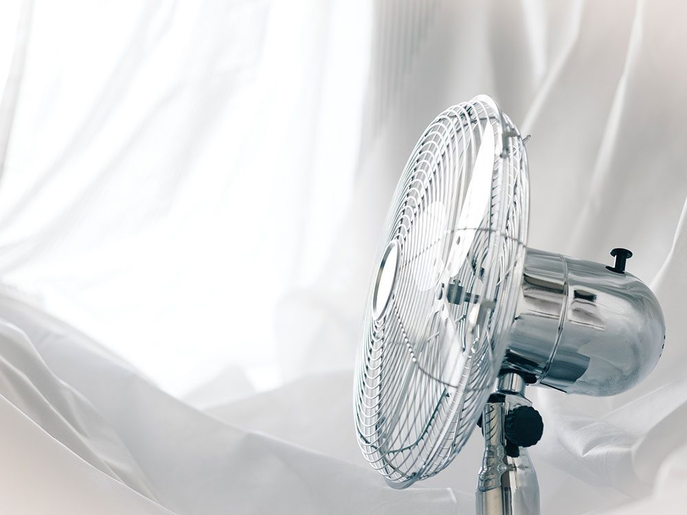 Use a fan to get a deeper sleep