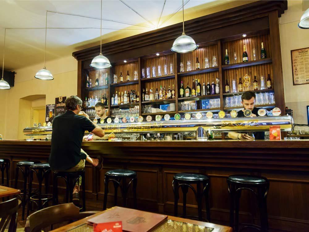 Prague Beer Museum bar