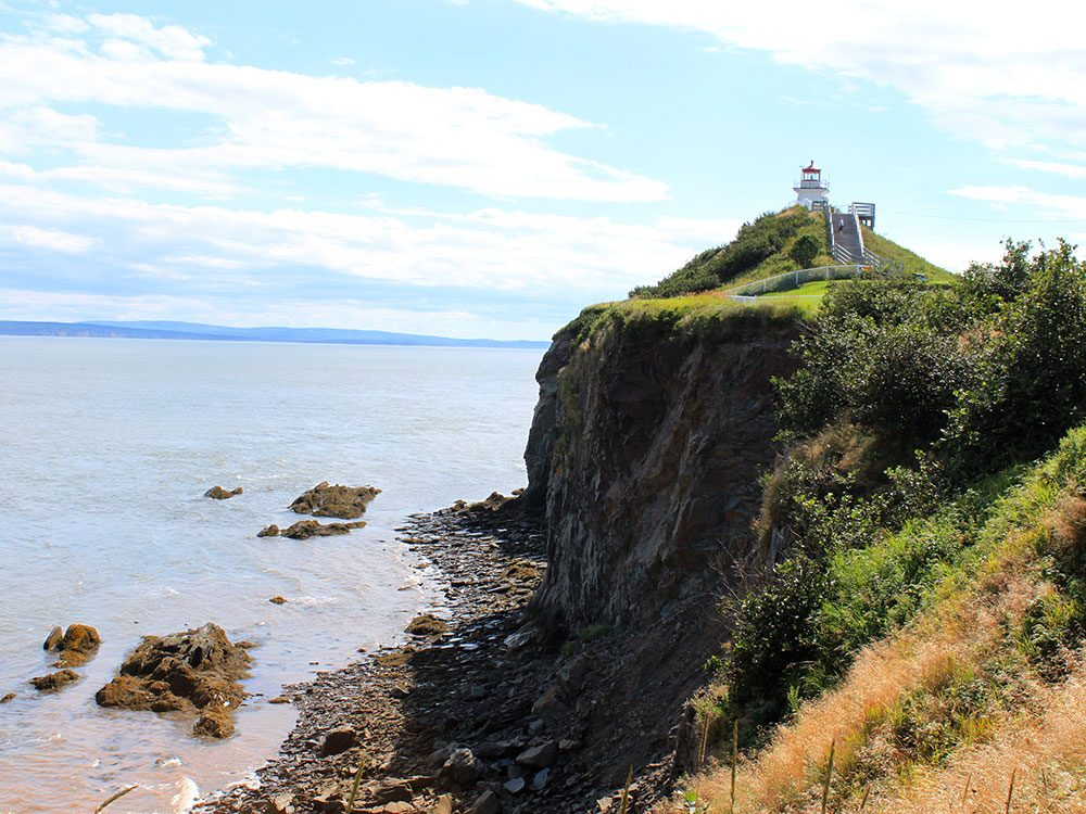 Cape Enrage lighthouse, New Brunswick, Canada