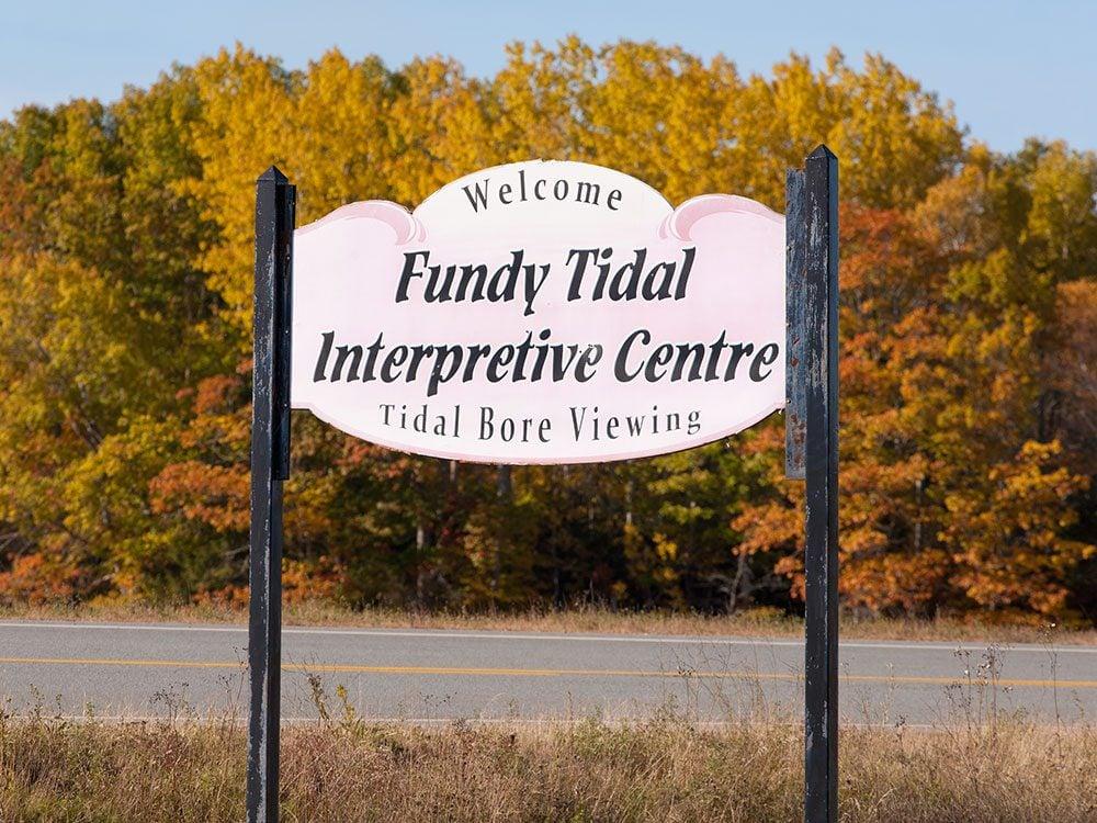 Fundy Tidal Interpretive Centre, Nova Scotia, Canada