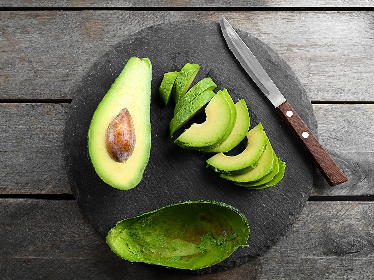 How to revive tired eyes - avocados