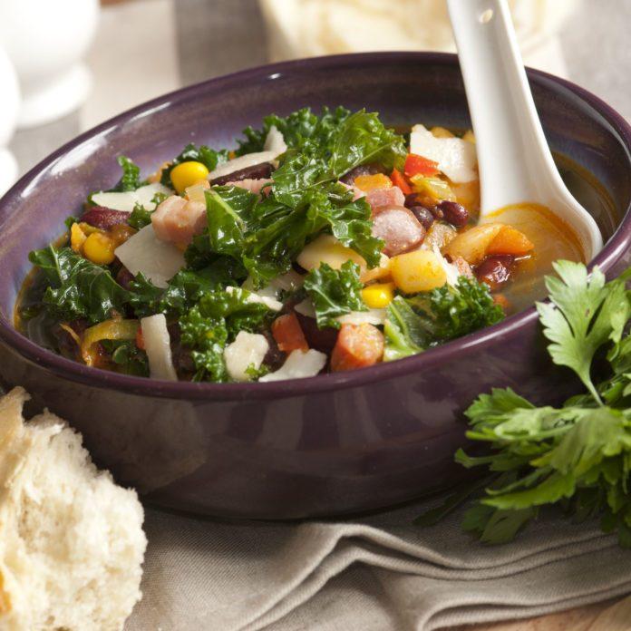 Kale & Chicken Soup