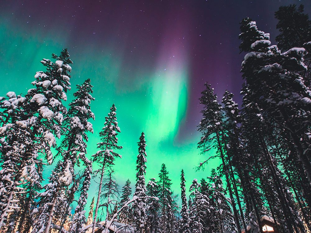 See the northern lights in the Northwest Territories