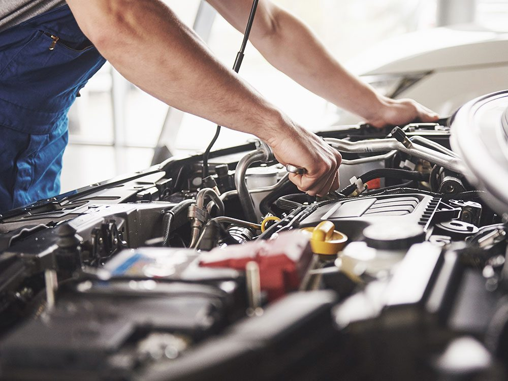 Professional used car inspection