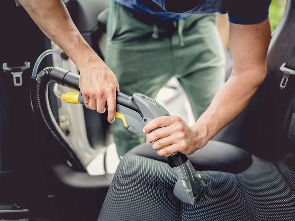 Invest in detailing when selling a used car