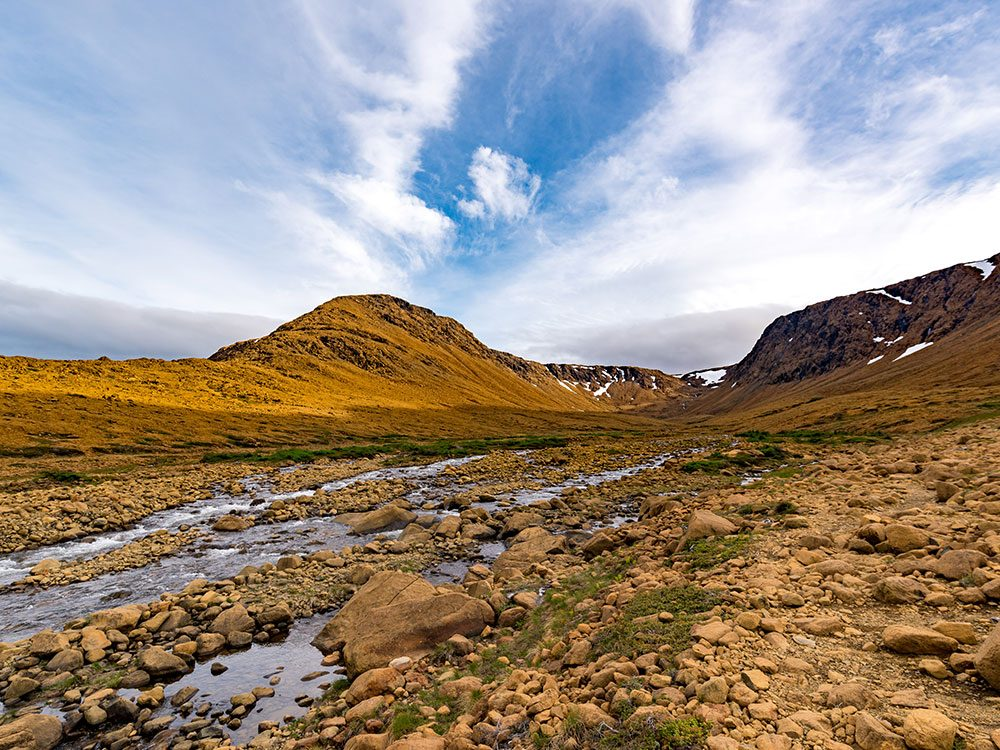 Tablelands, Gros Morne National Park, Newfoundland, Canada