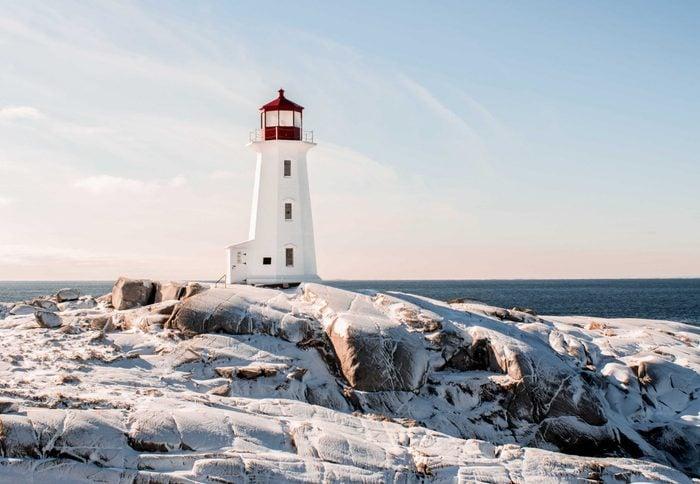 Lighthouse in Nova Scotia