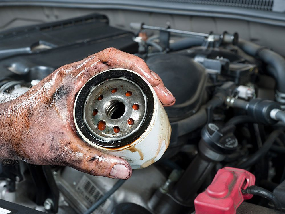 High mileage oil and oil filters