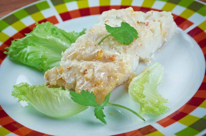 Dried saltfish