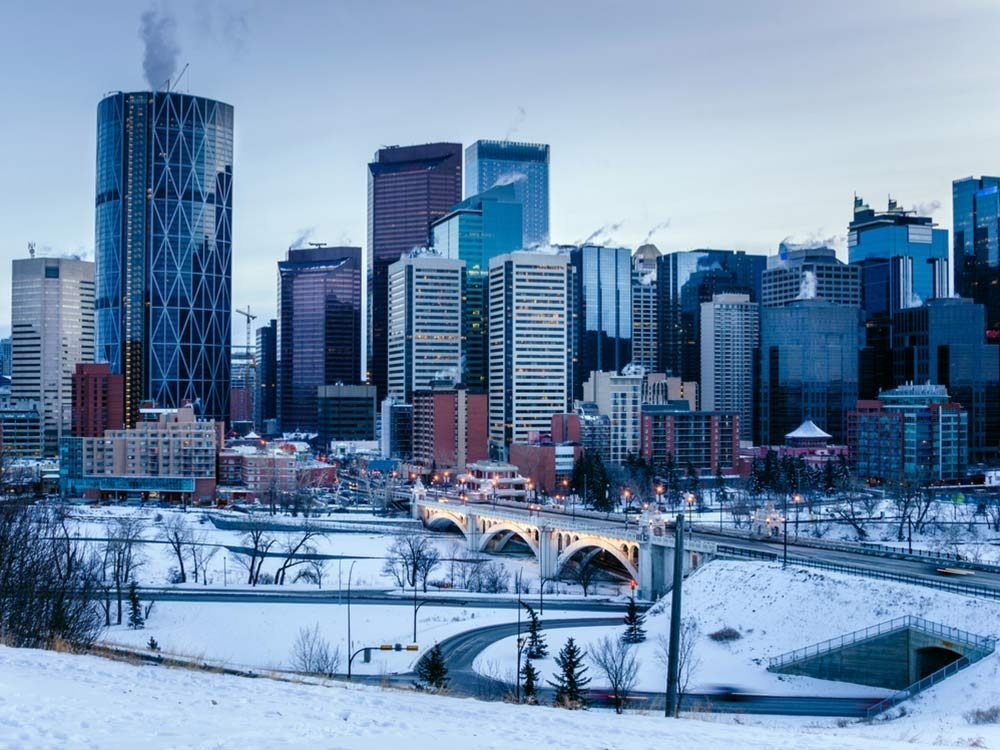 Winter in Calgary