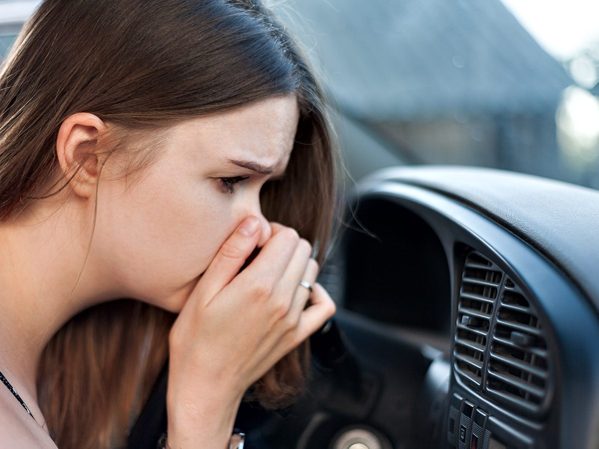 Mistakes that devalue your car - bad car smell