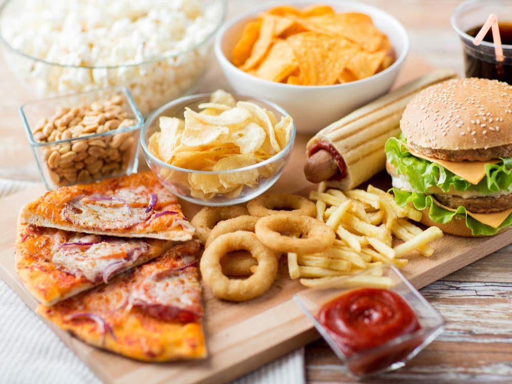 Fast and processed foods