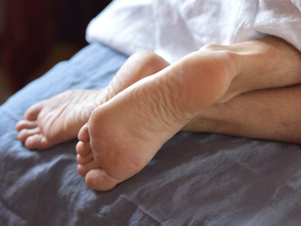 can't sleep - Restless legs syndrome