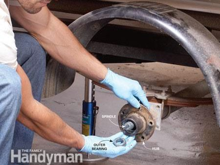 Repacking Trailer Wheel Bearings: Step-by-Step Instructions
