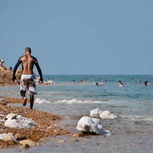 4. Dead Sea, Israel